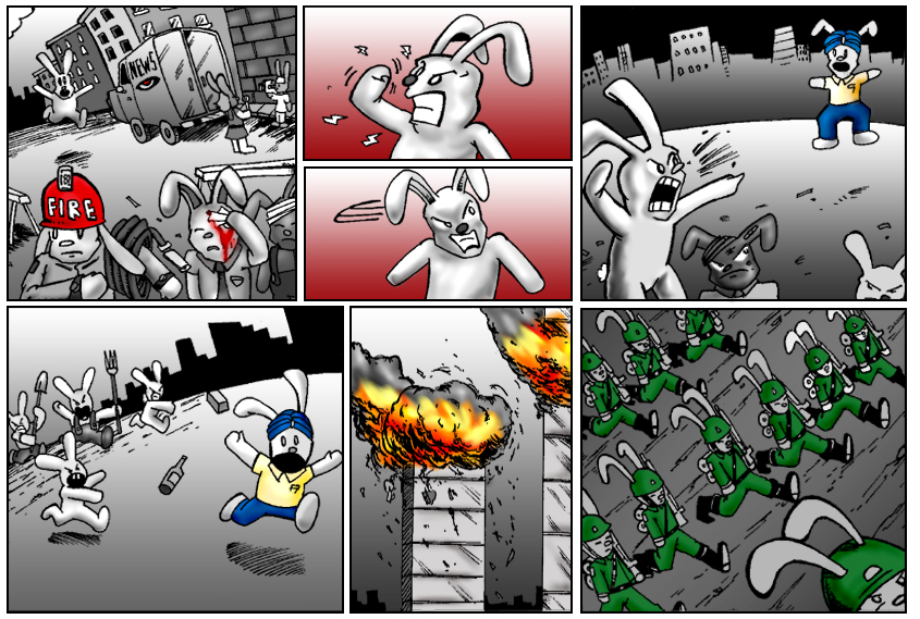 Terrorism Comes to Bunnytown page 2