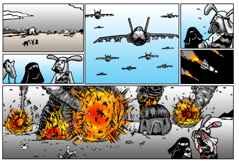 Terrorism Comes to Bunnytown page 3