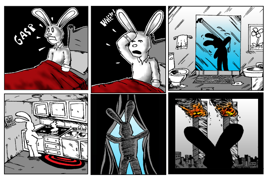 Terrorism Comes to Bunnytown page 5